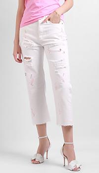 Рваные джинсы Silvian Heach с высокой талией, фото