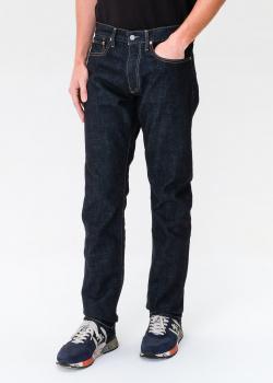 Черные джинсы Polo Ralph Lauren с контрастной строчкой, фото