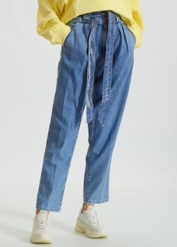 Голубые джинсы Don The Fuller с защипами, фото