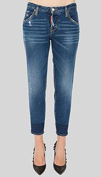 Укороченные джинсы Dsquared2 Hockney Jean, фото