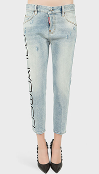 Укороченные джинсы Dsquared2 Cool Girl Cropped, фото