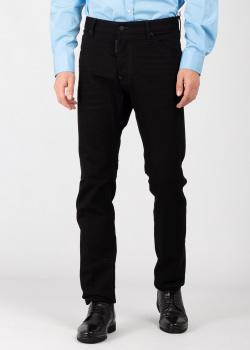 Черные джинсы Dsquared2 прямого кроя, фото