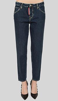 Темно-синие джинсы Dsquared2 Hockney Jean, фото