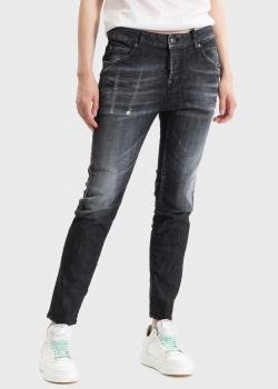 Зауженные джинсы Dsquared2 черного цвета, фото