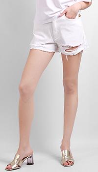 Джинсовые шорты Silvian Heach с дырками, фото