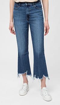 Рваные джинсы J Brand синего цвета, фото