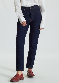Синие джинсы Zadig & Voltaire с контрастной строчкой, фото