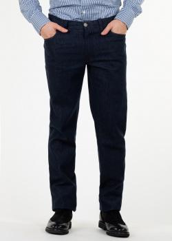 Прямые джинсы Brioni синего цвета, фото