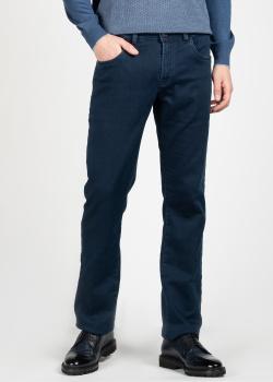 Мужские джинсы Scissor Scriptor синего цвета, фото