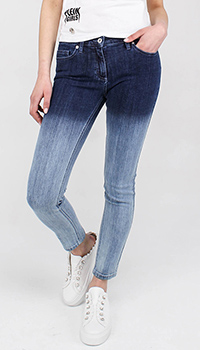 Узкие джинсы омбре Blumarine, фото