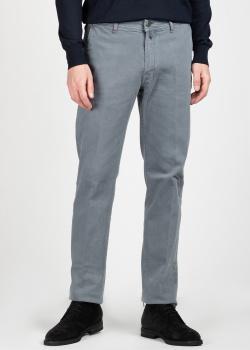 Серые джинсы Kiton с косыми карманами, фото