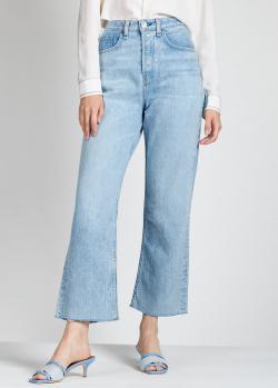 Широкие джинсы Rag & Bone голубого цвета, фото