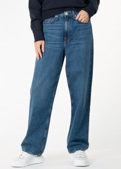 Синие джинсы Rag & Bone прямого кроя, фото