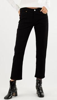 Укороченные джинсы Zadig & Voltaire черного цвета, фото