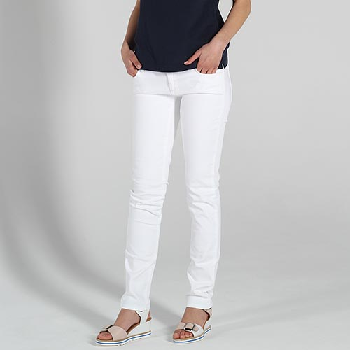 f3d817a4559 ☆ Белые узкие джинсы Trussardi Jeans купить в Киеве