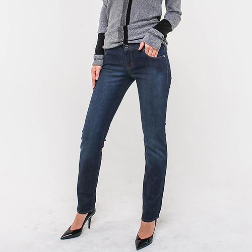 Синие джинсы Love Moschino с вышивкой сзади, фото