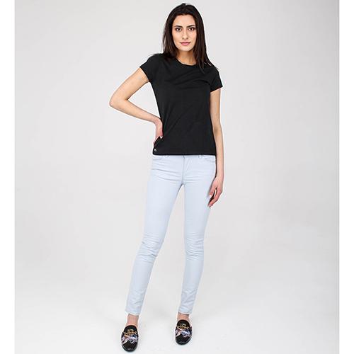 Легкие джинсы Emporio Armani голубого цвета, фото