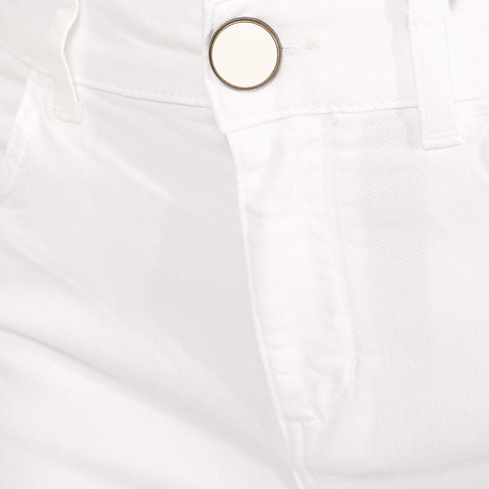 Узкие джинсы Seventy белого цвета