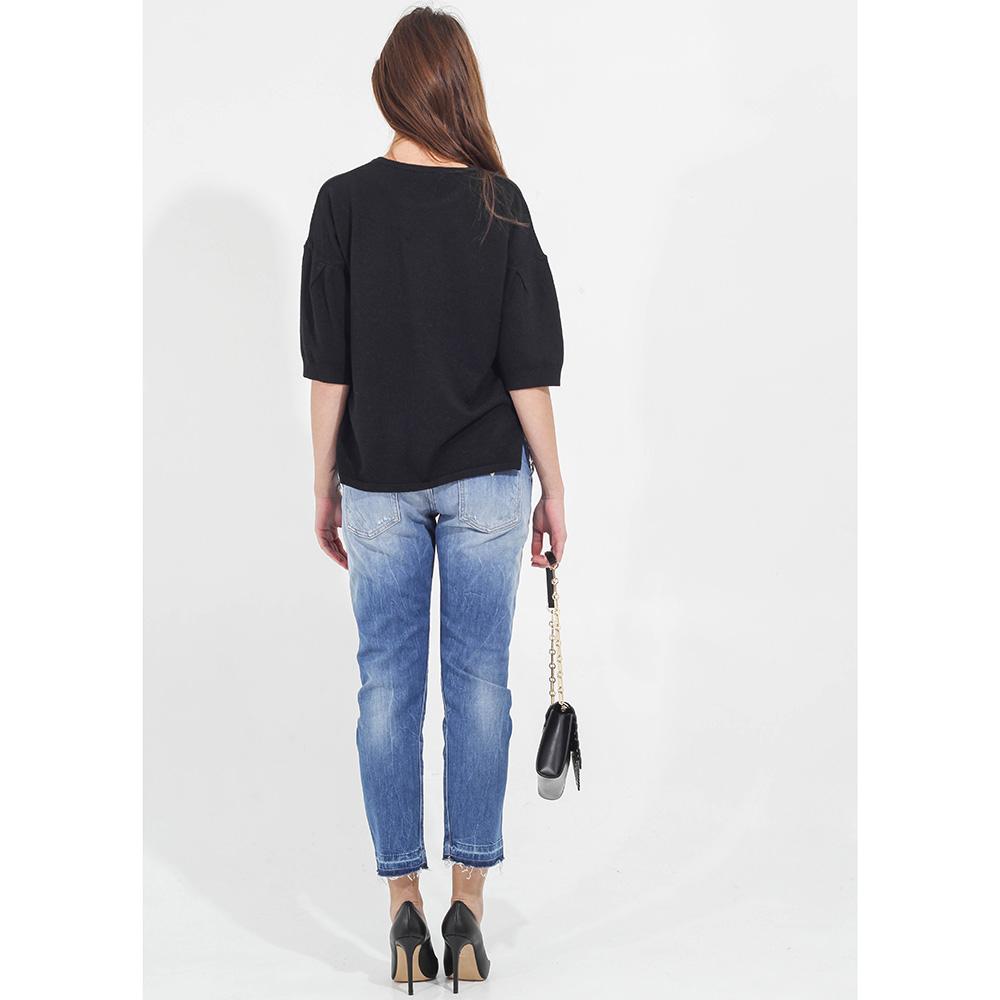 Укороченные джинсы Guess с потертостями