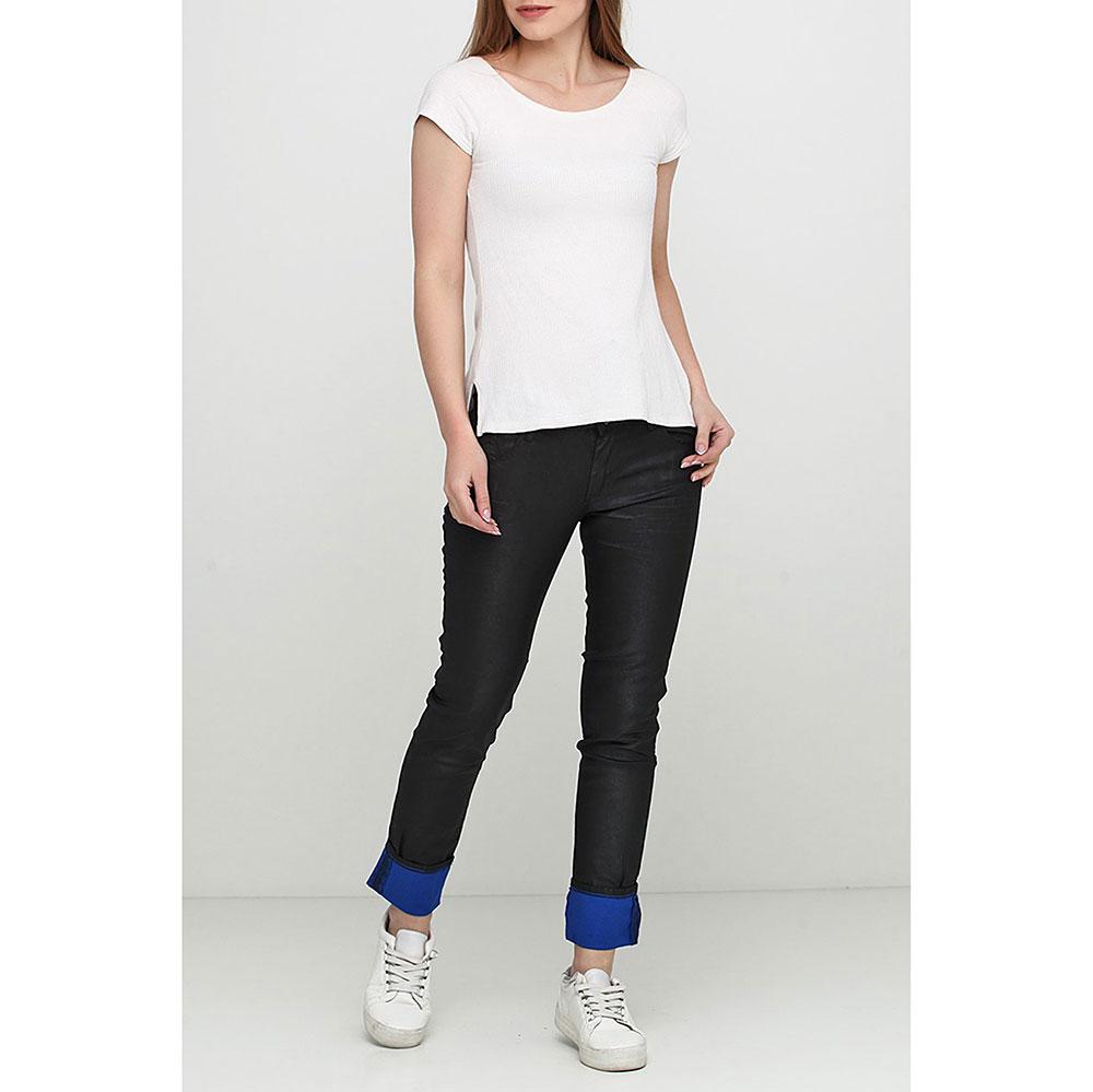Черные джинсы Gaudi с манжетами