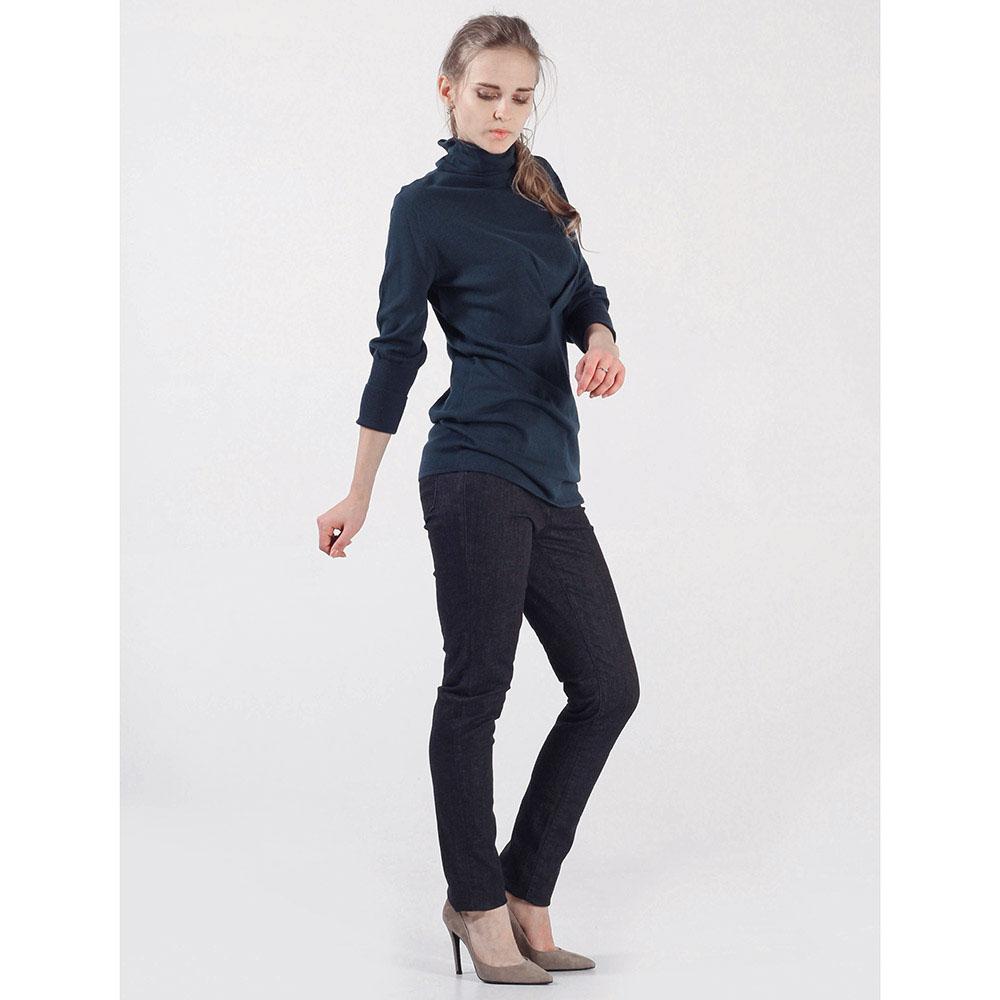 Черные джинсы Trussardi Jeans прямого покроя