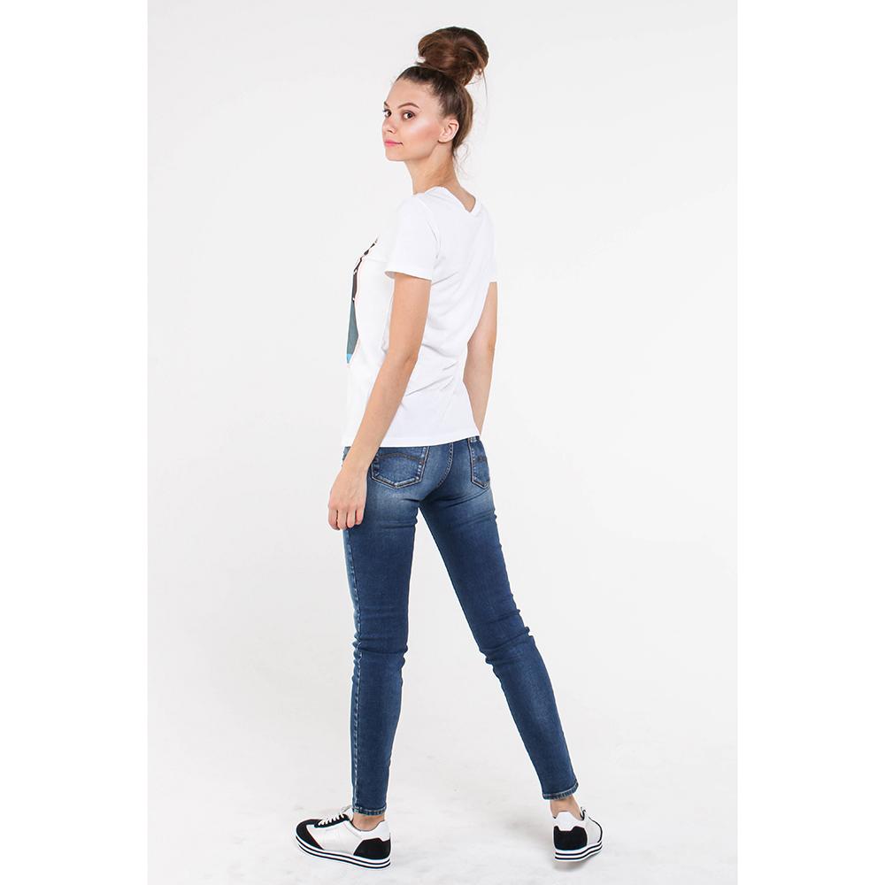 Джинсы-скинни Armani Jeans синего цвета