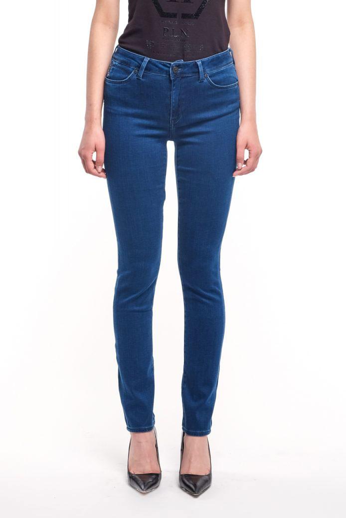 Зауженные джинсы Bogner Julie синего цвета