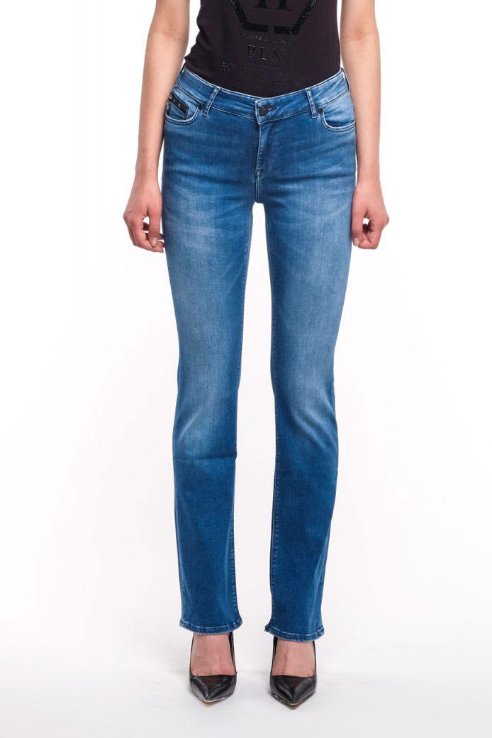 Женские прямые джинсы Bogner Grace с высокой талией