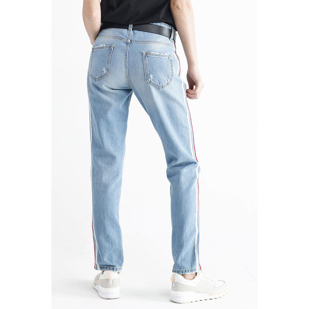 Прямые джинсы Ermanno Scervino с лампасами