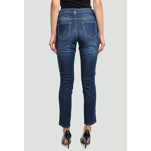 Синие джинсы Ermanno Ermanno Scervino укороченные