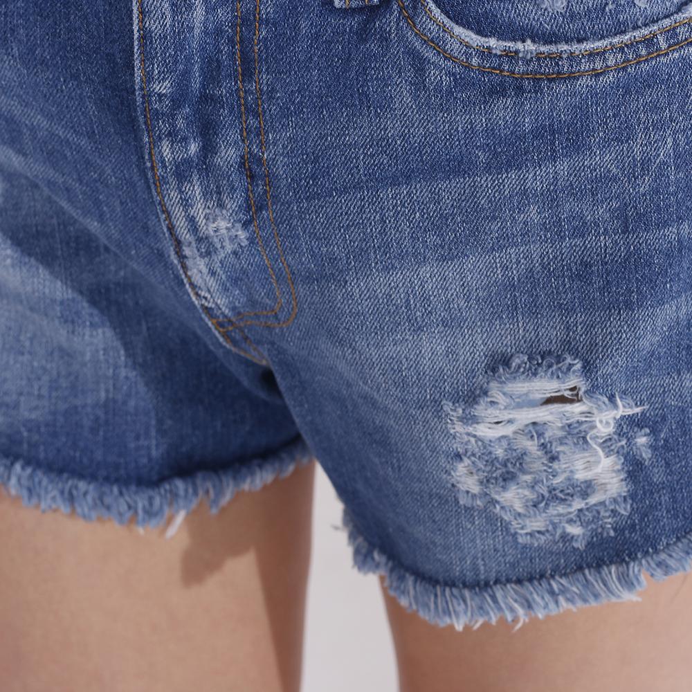 Шорты джинсовые J.B4 Just Before синего цвета