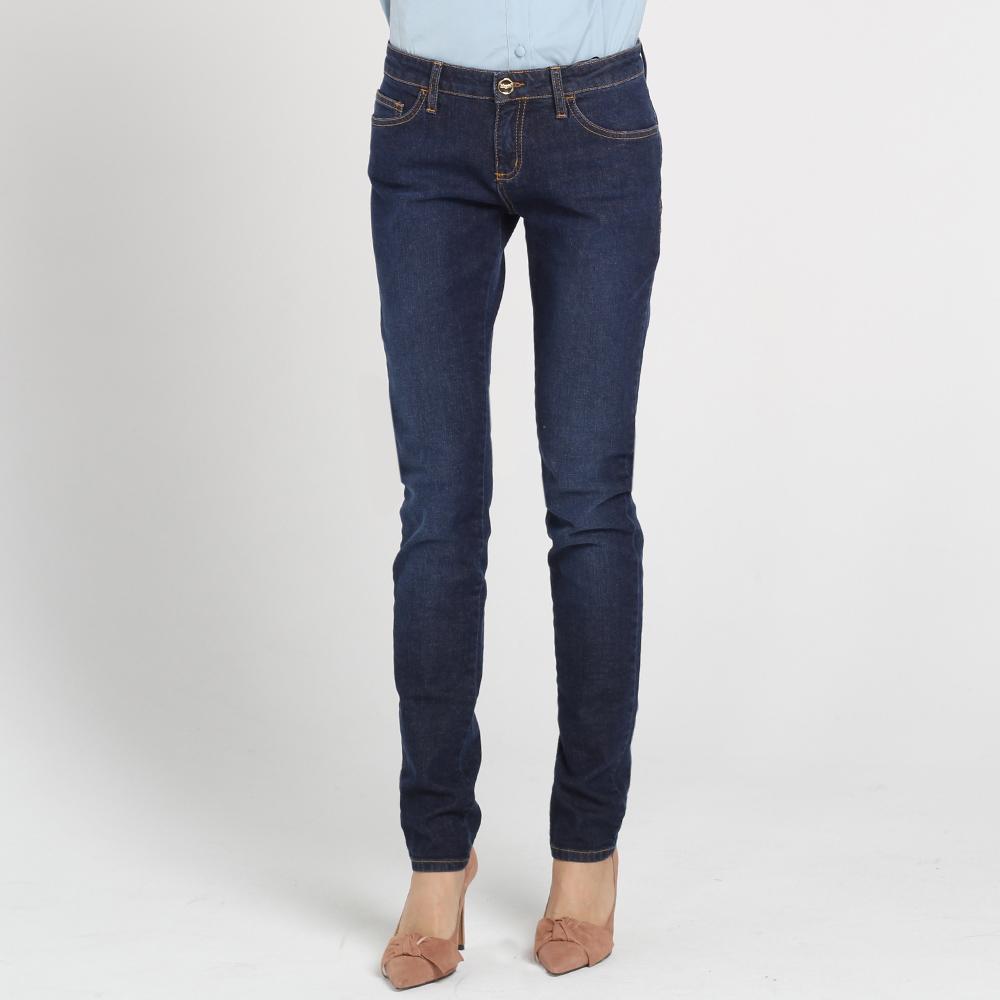 Узкие джинсы Blugirl Blumarine синего цвета