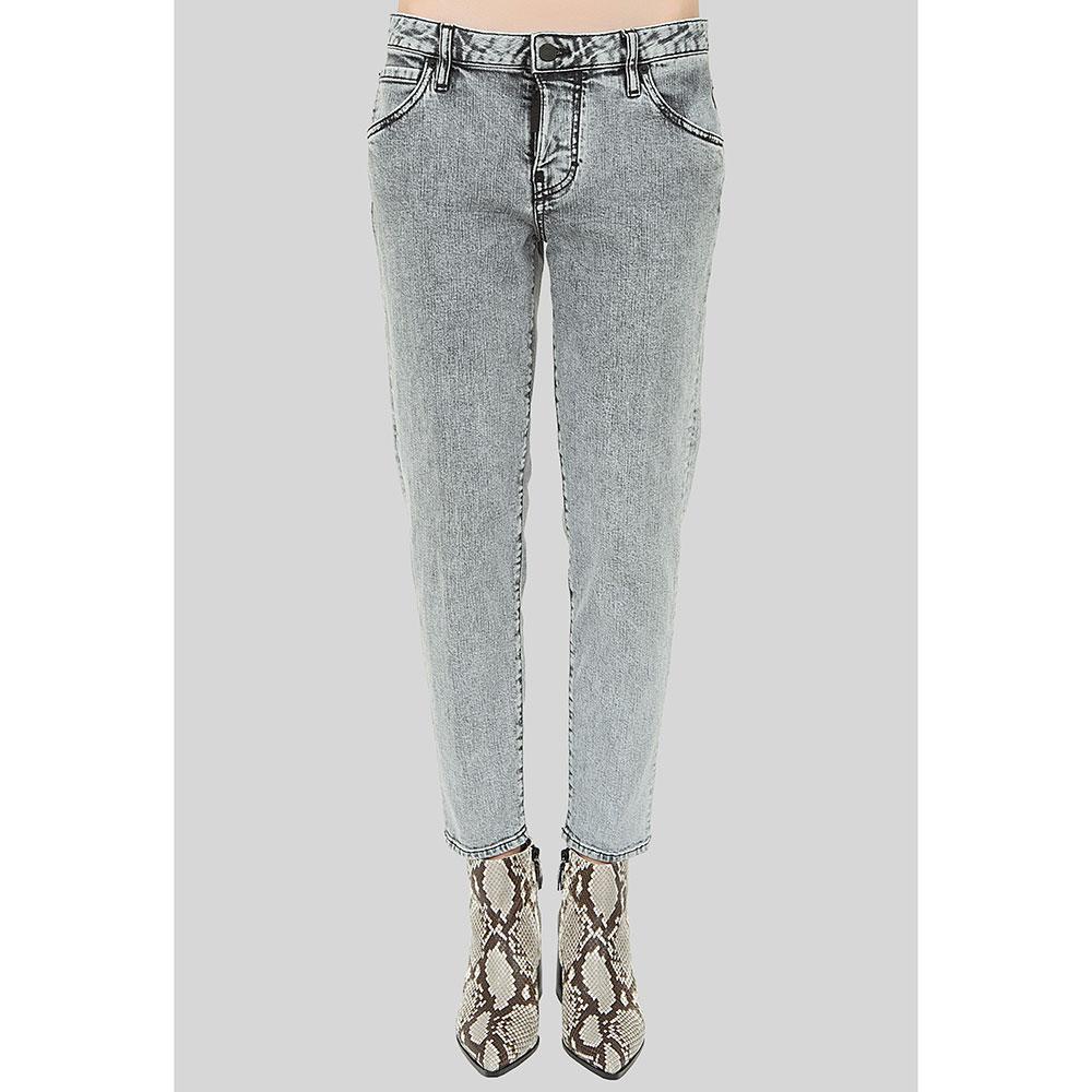 Серые джинсы Dsquared2 Hockney Jean зауженные