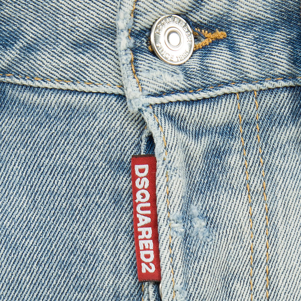 Джинсы Dsquared2 Page Jean широкие