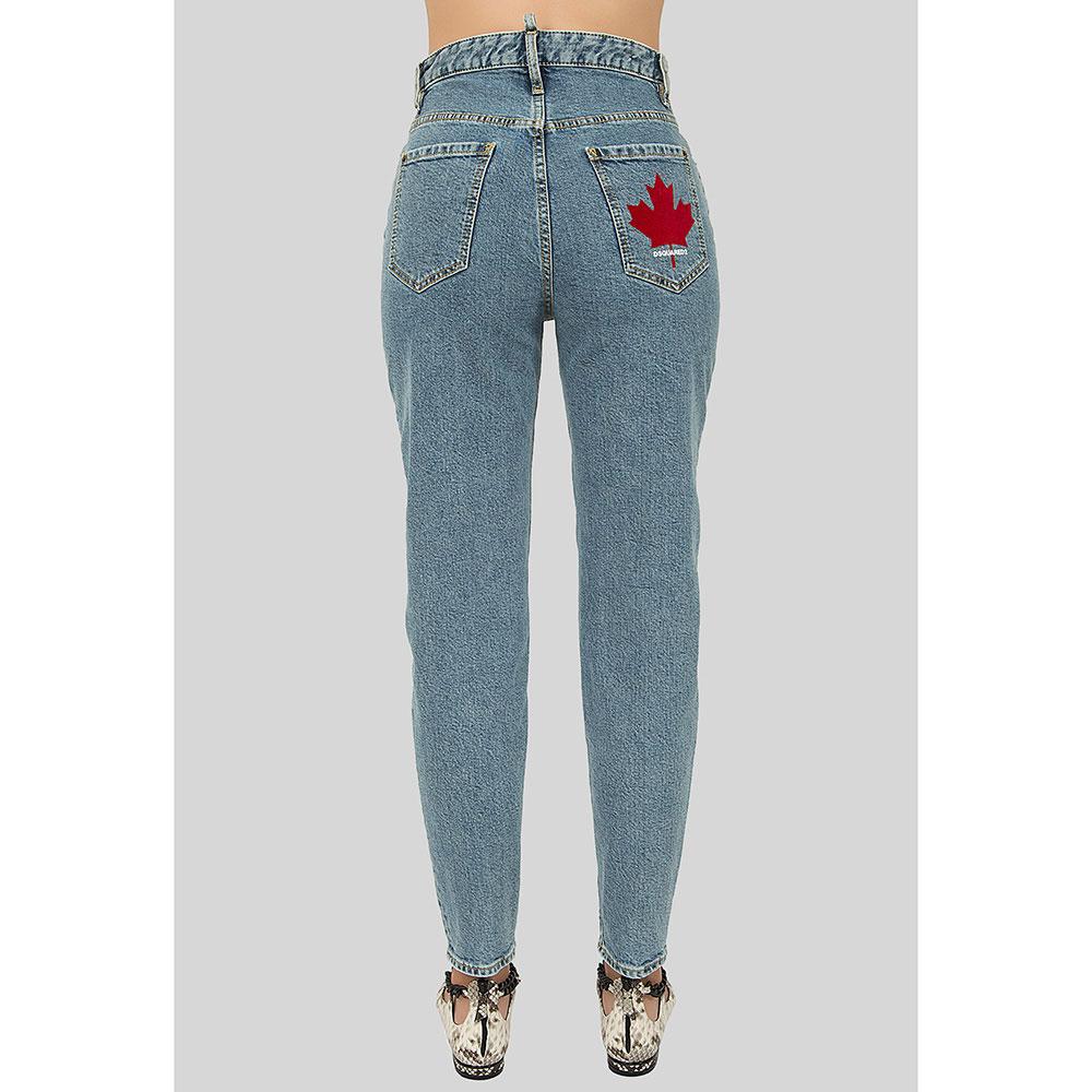 Джинсы Dsquared2 Eighties Jean с высокой талией