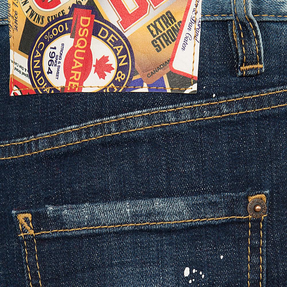 Рваные джинсы Dsquared2 Eighties Jean