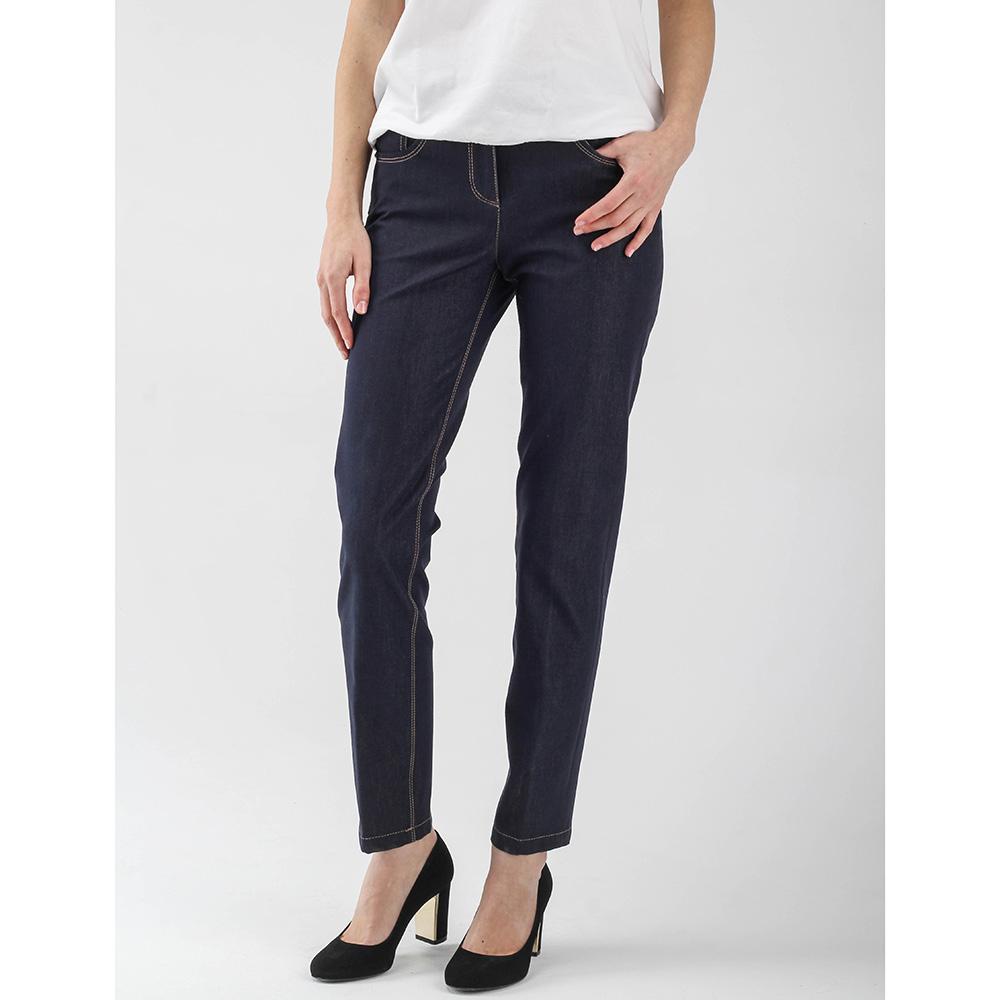 Синие зауженные джинсы Peserico по косточку