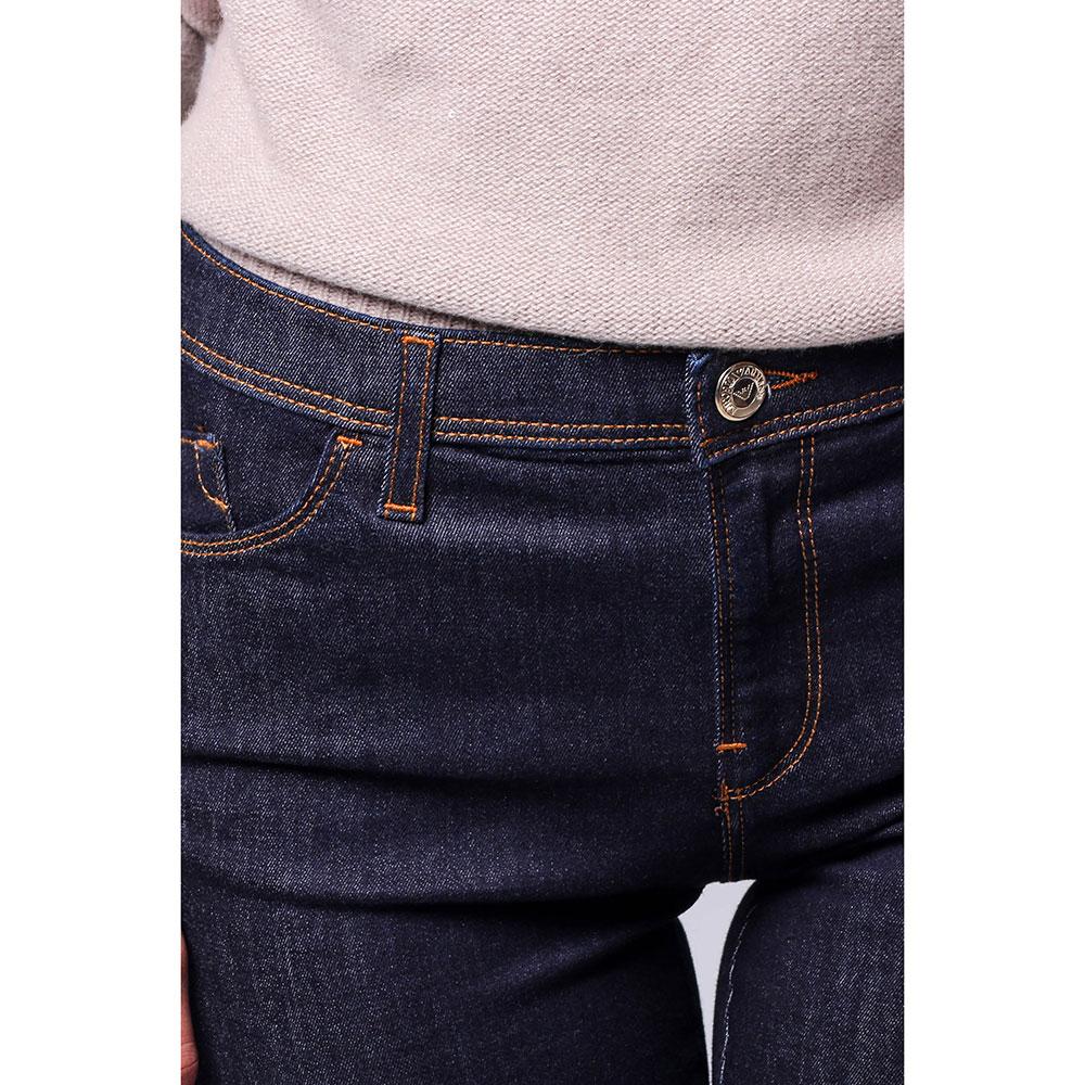 Узкие джинсы Emporio Armani с фирменным логотипом