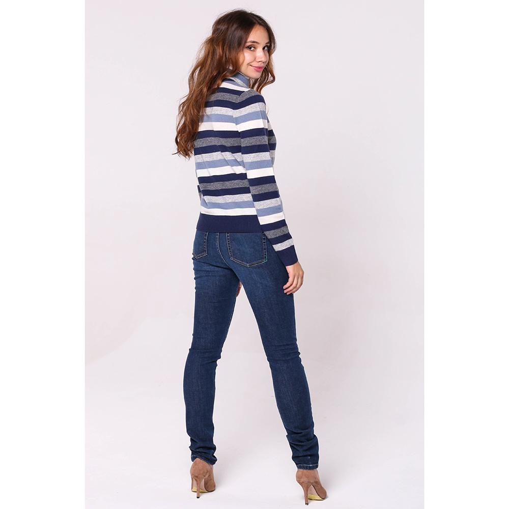 Зауженные джинсы Kenzo синего цвета