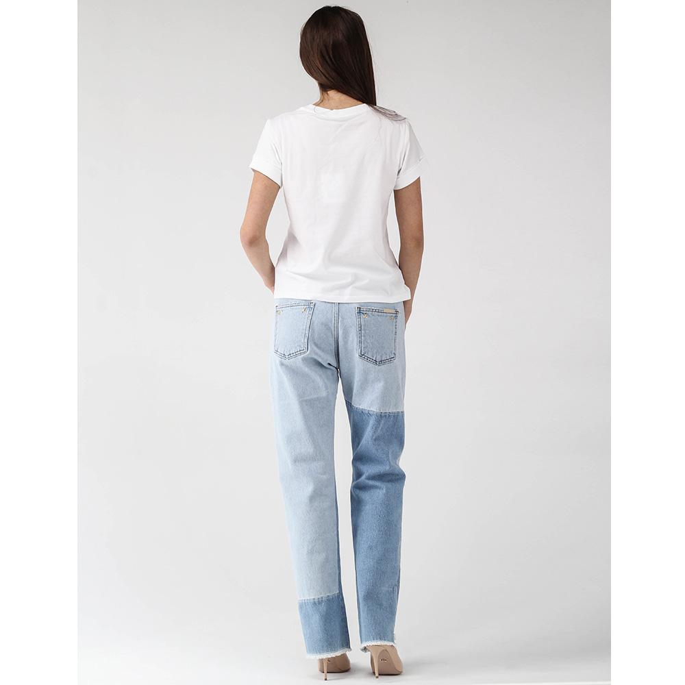 Прямые джинсы Philipp Plein с бахромой
