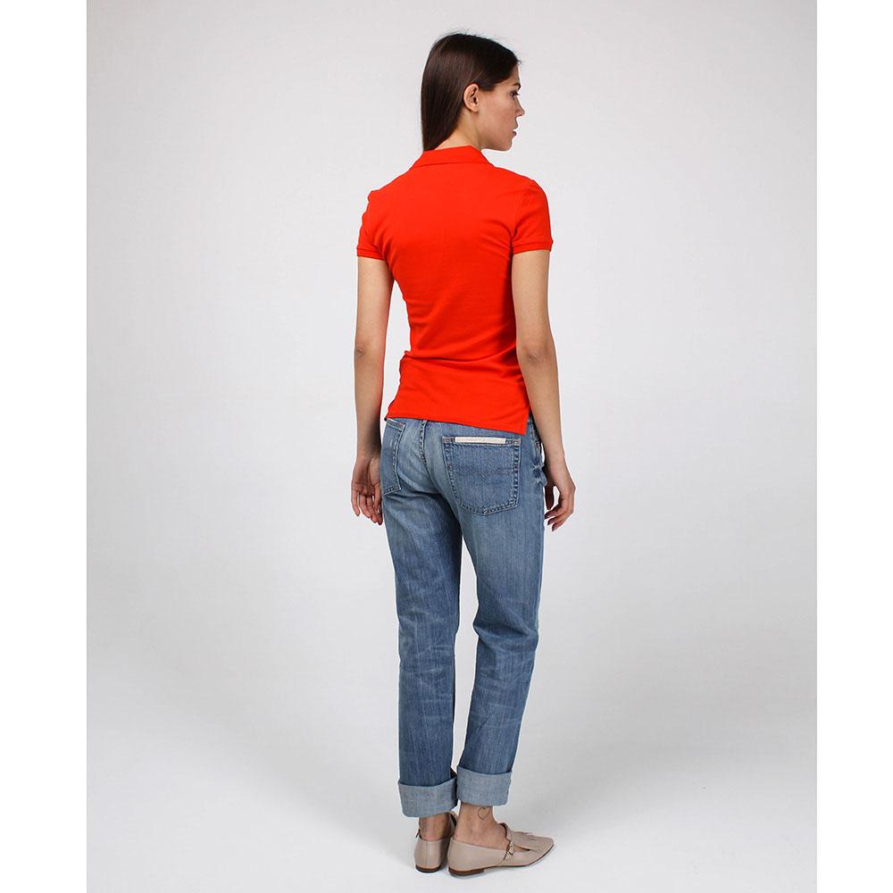 Голубые рваные джинсы-бойфренды Polo Ralph Lauren
