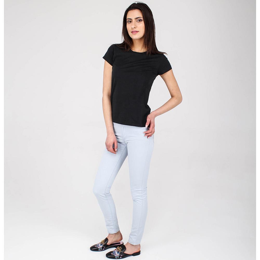 Легкие джинсы Emporio Armani голубого цвета