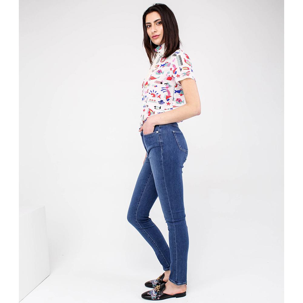 Узкие джинсы Bogner светло-синие