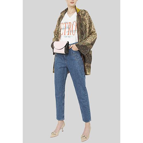 Свободные джинсы Etro с вышивкой, фото