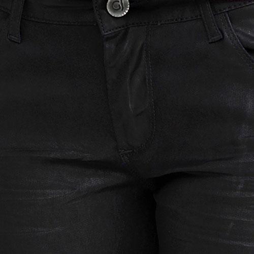 Черные джинсы Gaudi с манжетами, фото