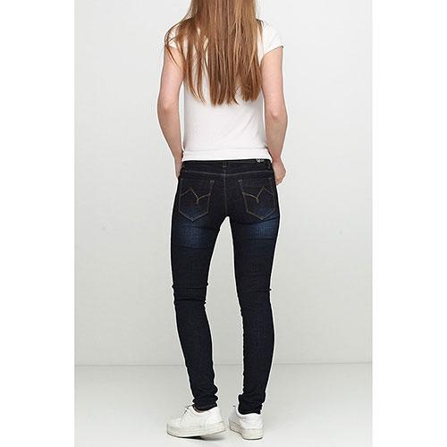 Зауженные джинсы Gaudi синего цвета, фото