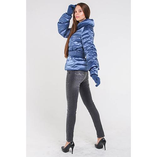 Серые джинсы Trussardi Jeans с декором-стразами, фото