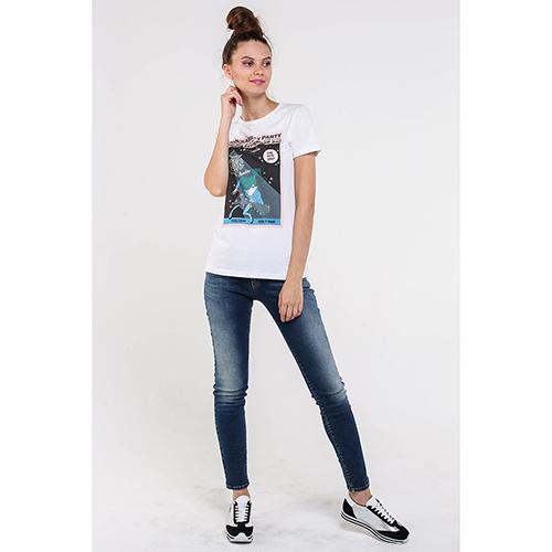 Джинсы-скинни Armani Jeans синего цвета, фото