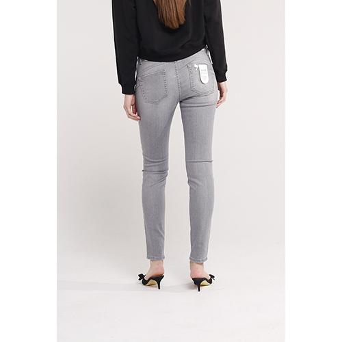 Зауженные джинсы Liu Jo с серого цвета, фото