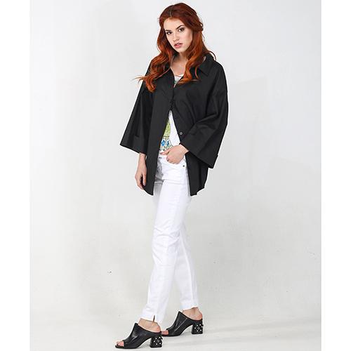 Зауженные джинсы Kaos белого цвета, фото